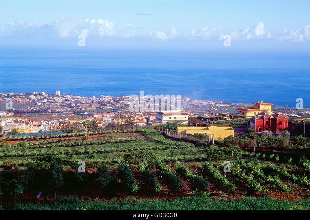 Orotava Valley Tenerife Stock Photos & Orotava Valley Tenerife Stock Imag...