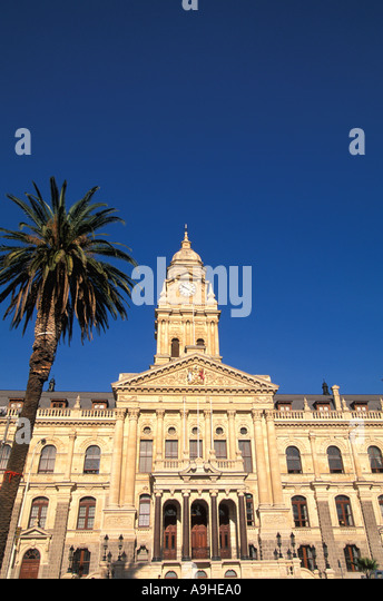 South Africa Cape Town Old City Hall - Stock Image