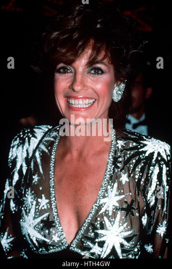 Linda Gray in Los Angeles, California in 1984 at the Emmy Awards. - Stock-Bilder