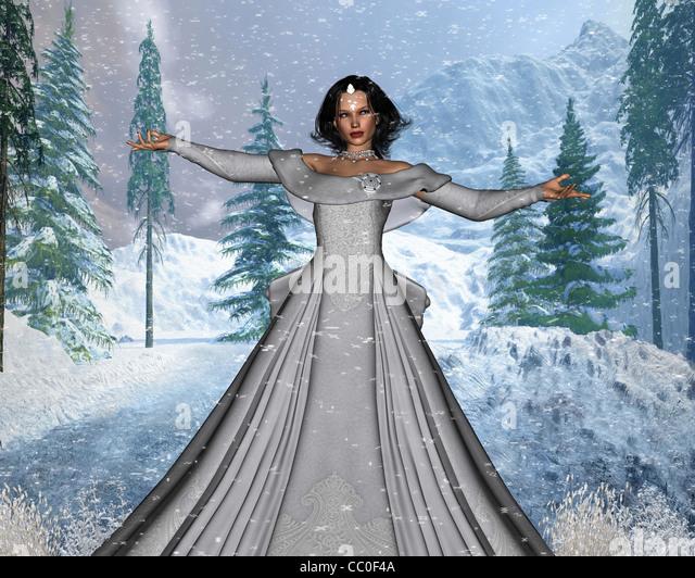 Snow Queen - Stock Image