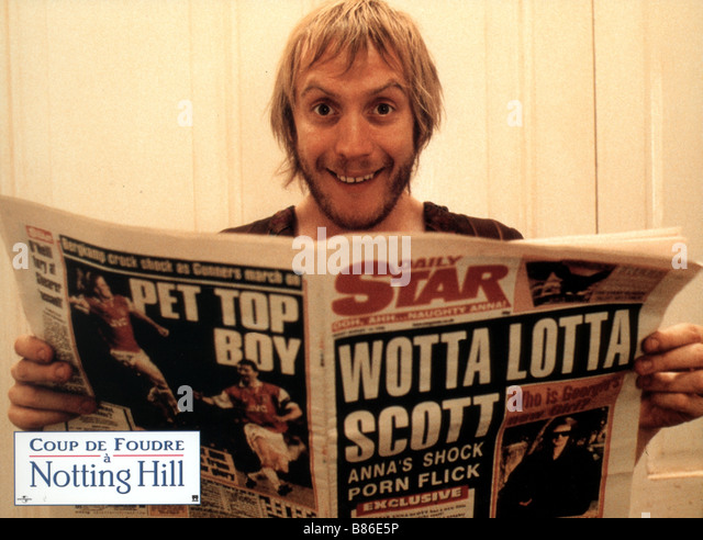 Rhys ifans notting hill 1999 stock photos rhys ifans - Coup de foudre a notting hill acteurs ...