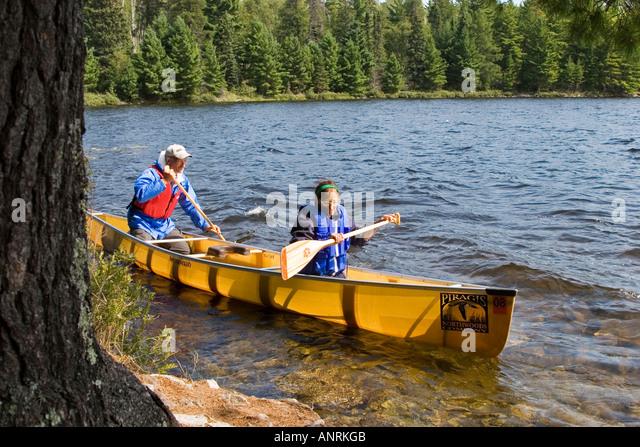 Quetico Provincial Park - Stock Image