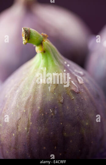 Figs Close Up - Stock Image