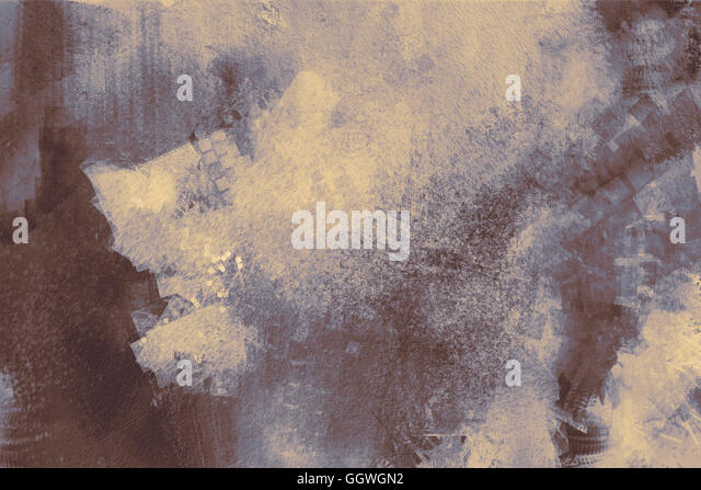 abstract painting of grey texture background on the basis of paint - Stock Image
