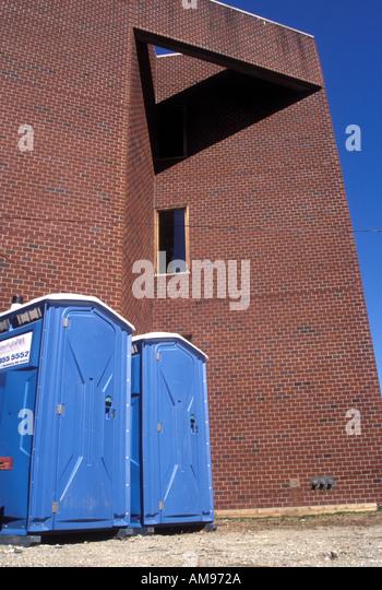 Swedish Portable Toilet : Exterior nobody toilet toilets stock photos