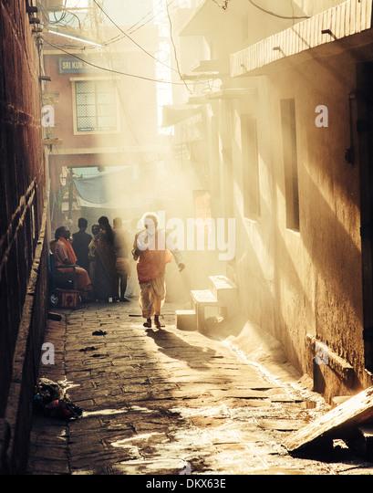 Varanasi, Ganges, India - Stock-Bilder