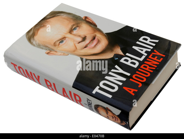 A Journey by Tony Blair - Stock Image