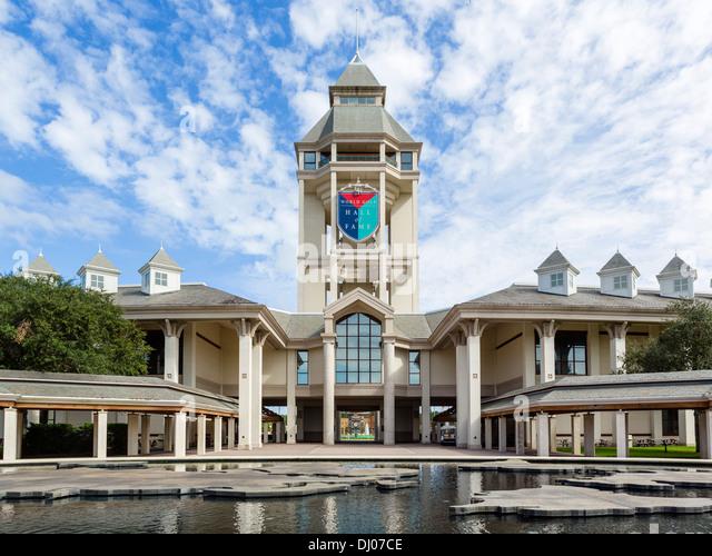 The World Golf Hall of Fame, near St Augustine, Florida, USA - Stock Image