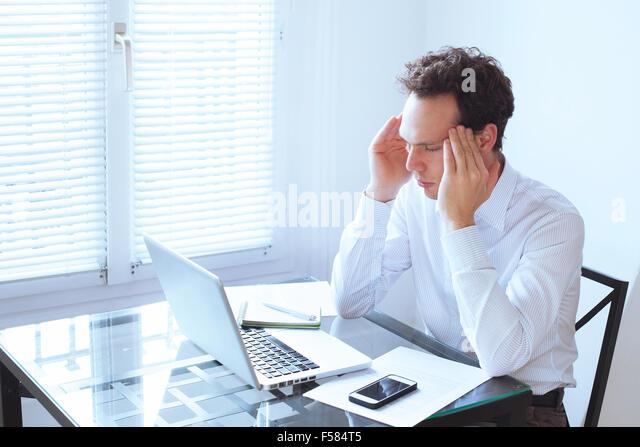 headache - Stock Image
