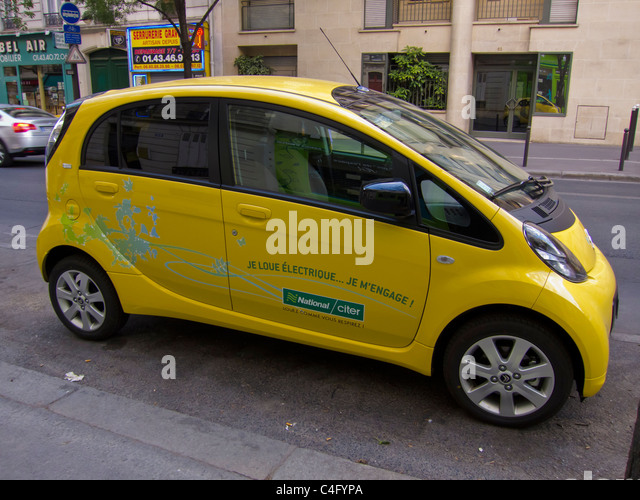 National Car Rental Electric Cars