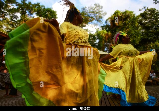 Afro-Colombian Dances - Stock Image