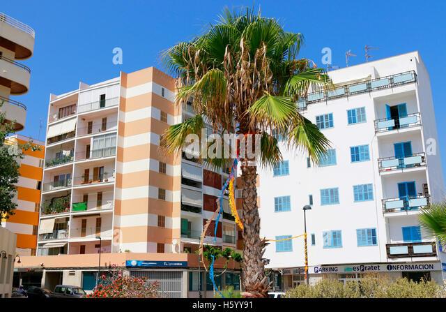 Impressionen: Ibiza-Stadt, Ibiza, Spanien. - Stock-Bilder