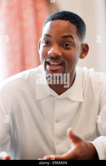 Will Smith, Actor, Singer, 19th September 1997. - Stock Image