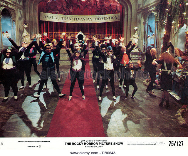 THE ROCKY HORROR PICTURE SHOW (1975) - still from the 1975 cult science fiction musical film - Stock Image