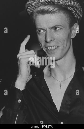 david bowie - Stock Image