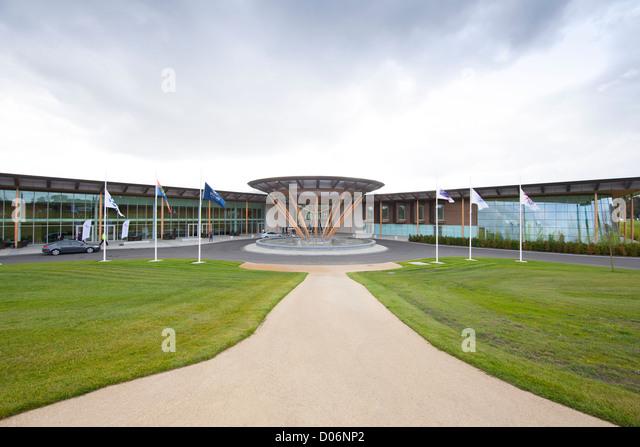 St George's Park hotel facilities, The FA Training Facility, Burton on Trent, Staffordshire, England - Stock Image