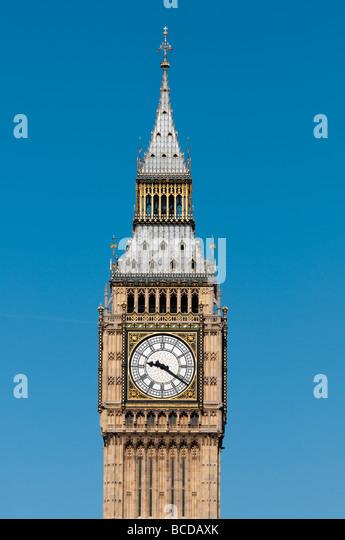 Big Ben London England UK - Stock Image