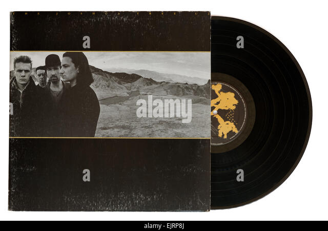 U2 Joshua Tree album - Stock Image