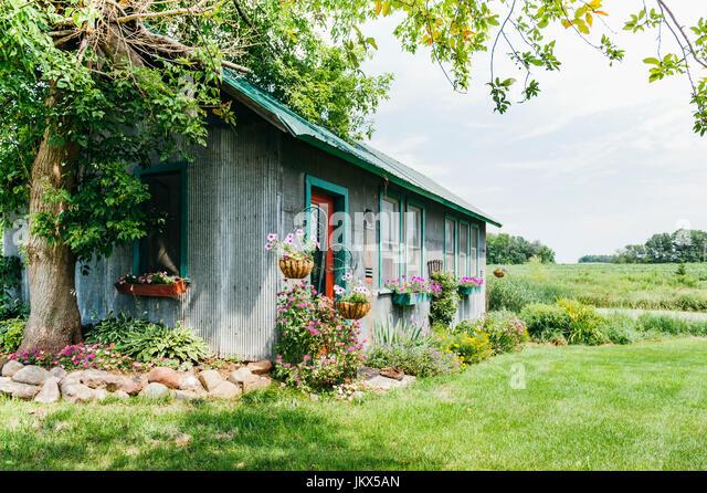 farm house - Stock Image