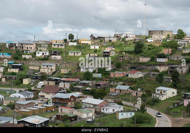 Township in the Knysna area, Western Cape, Western Cape, South Africa - Stock-Bilder