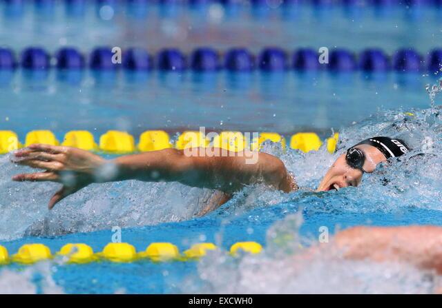 Gwangju, South Korea. 10th July, 2015. Yui Yamane (JPN) Swimming : The 28th Summer Universiade 2015 Gwangju Women's - Stock-Bilder