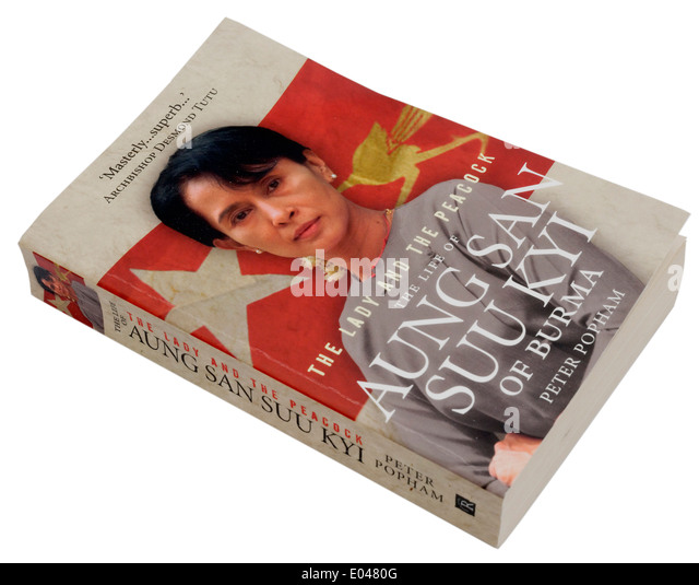 The Lady and the Peacock, a biography of Aung San Suu Kyi of Burma - Stock-Bilder