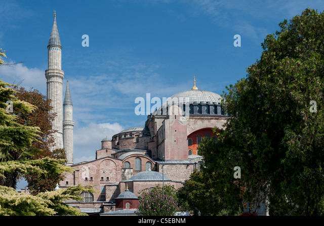 Aya Sofya in Istanbul - Stock Image