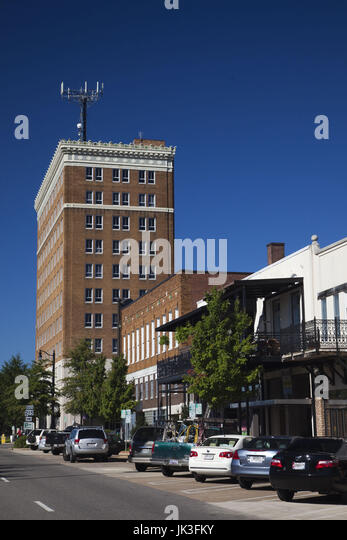 USA, Alabama, Tuscaloosa, Greensboro Avenue, also known as 24th Avenue - Stock Image