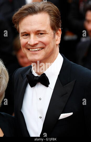 Cannes, France. 16th May, 2016. Actor Colin Firth attends the premiere of 'Loving' during the 69th Annual - Stock Image
