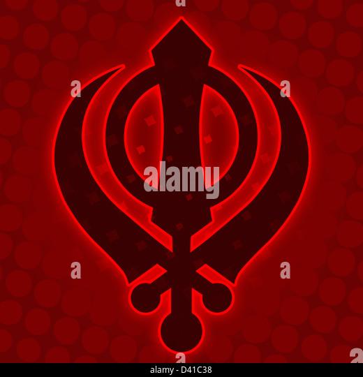 sikhism symbol stock photos amp sikhism symbol stock images