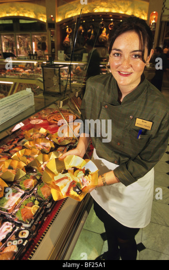 Harrods food stock photos harrods food stock images alamy for Assistant cuisine