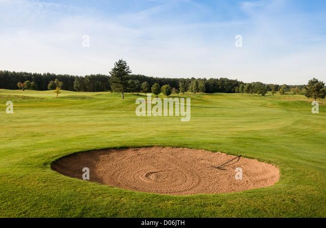 The Warwickshire Golf Course, Leek Wooton, Warwickshire. - Stock Image