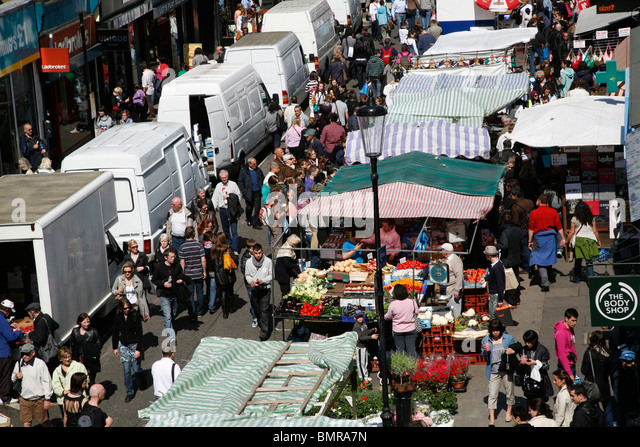 notting hill market stock photos notting hill market stock images alamy. Black Bedroom Furniture Sets. Home Design Ideas