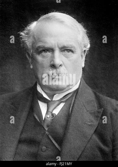 David Lloyd George - Stock Image