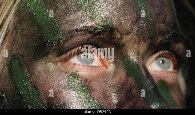 Bundeswehr Face Paint