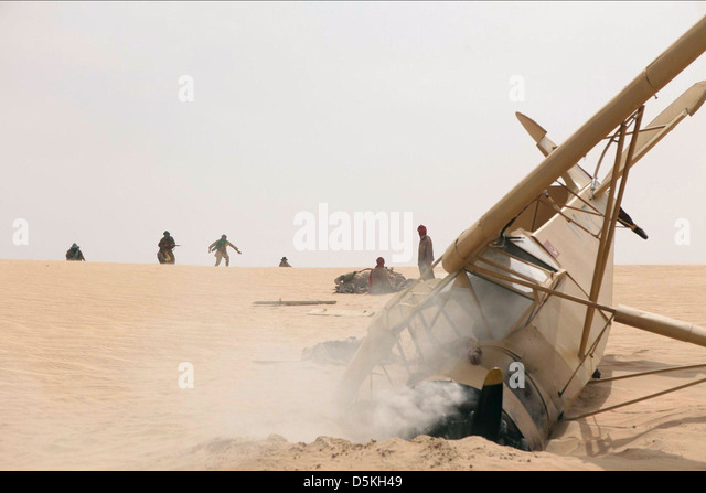 AEROPLANE WRECKAGE BLACK GOLD (2011) - Stock Image