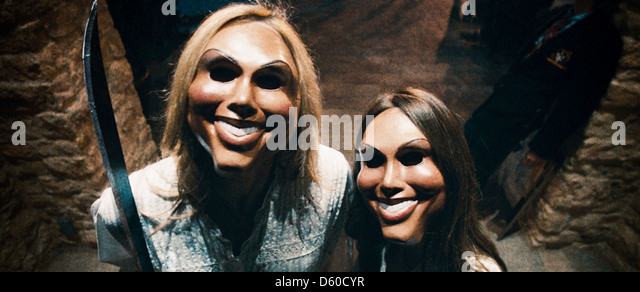 THE PURGE 2013 Universal Pictures film - Stock Image