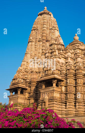 Kandariya mahadeva temple stock photos