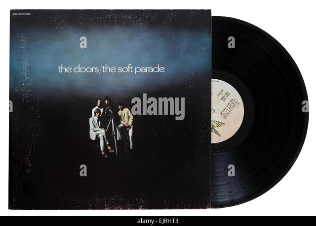 The Doors Soft Parade album - Stock Image