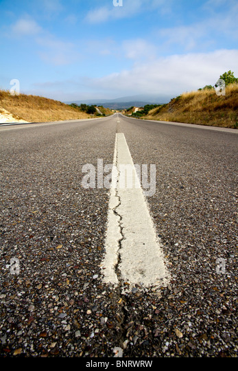 endless road - Stock Image