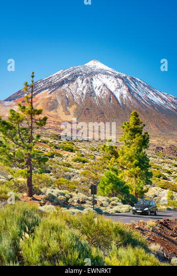 Mount Teide, Teide National Park, Canary Islands, Tenerife, Spain - Stock-Bilder