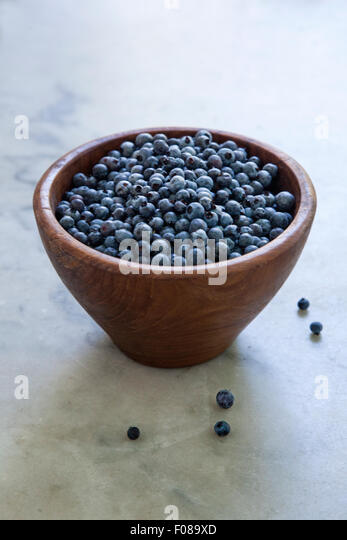 fresh picked berries - Stock Image