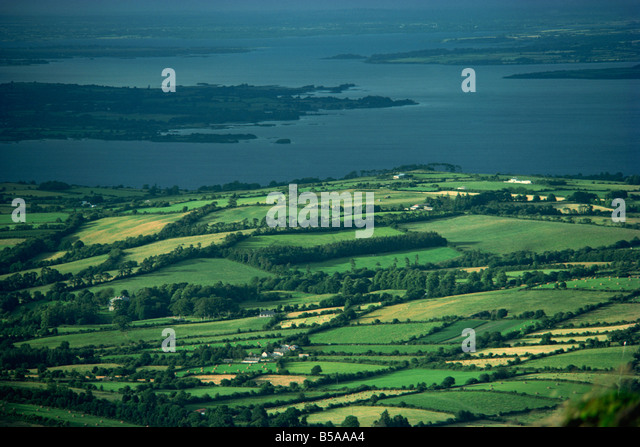 Leitrim, Daura, Shannon River, County Leitrim, Connacht, Republic of Ireland, Europe - Stock-Bilder