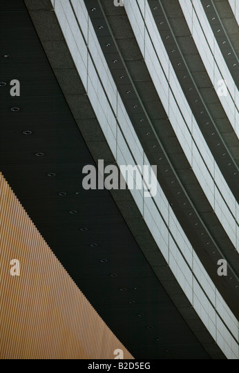 Japan, Tokyo, modern building, close up, low angle - Stock-Bilder