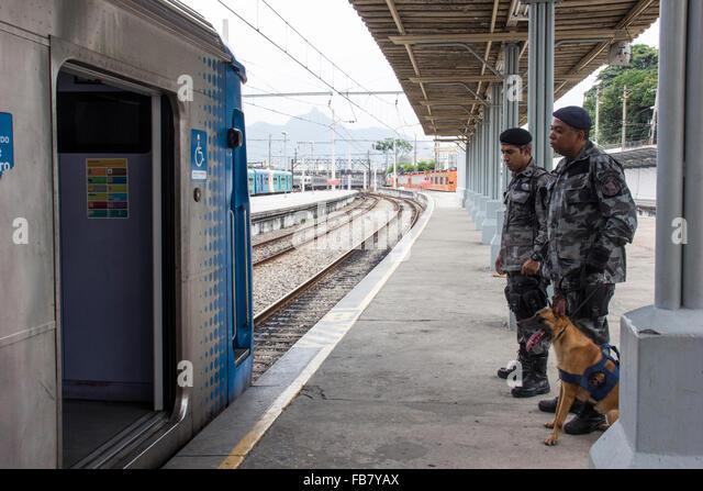 Central Railway Station Rio De Stock Photos & Central