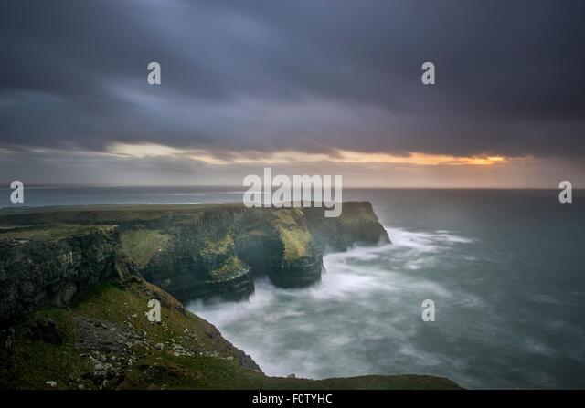 Cliffs of Moher, Liscannor, Ireland - Stock-Bilder