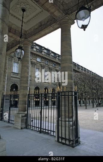Palais Royal - Stock Image