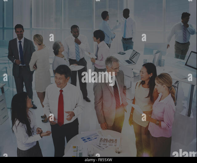 Communication Connection Cooperation Consultant Concept - Stock Image