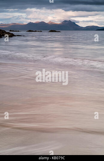 Mellon Udrigle beach in Wester Ross, Scotland - Stock Image