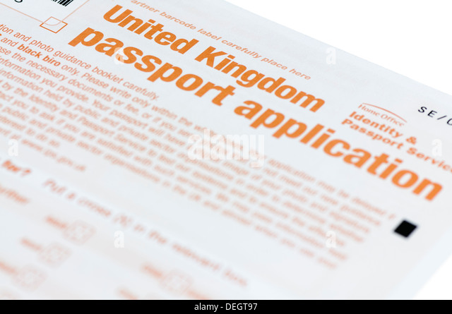 german passport application form uk